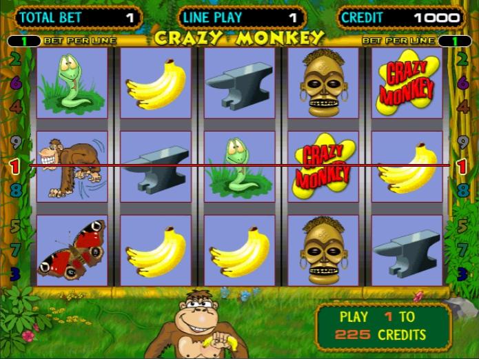 правила игрового автомата crazy monkey
