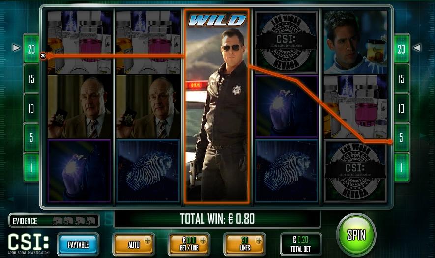 Игровой автомат CSI