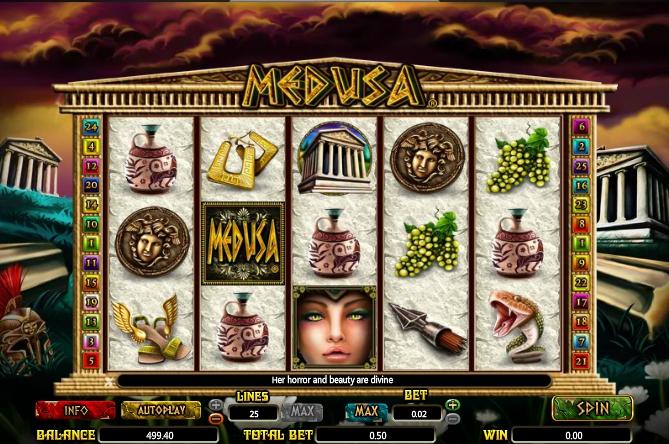 Игровой автомат Medusa Slot