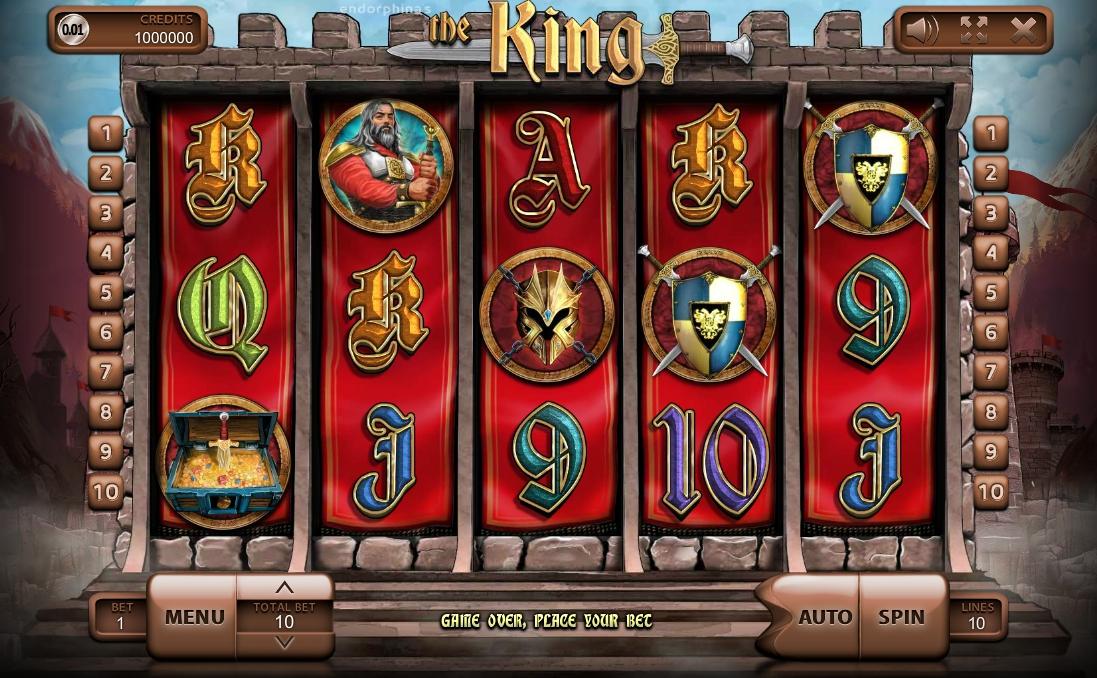 Игровой автомат The King