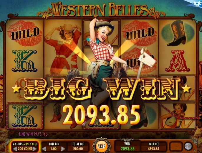 Игровой автомат Western Belles