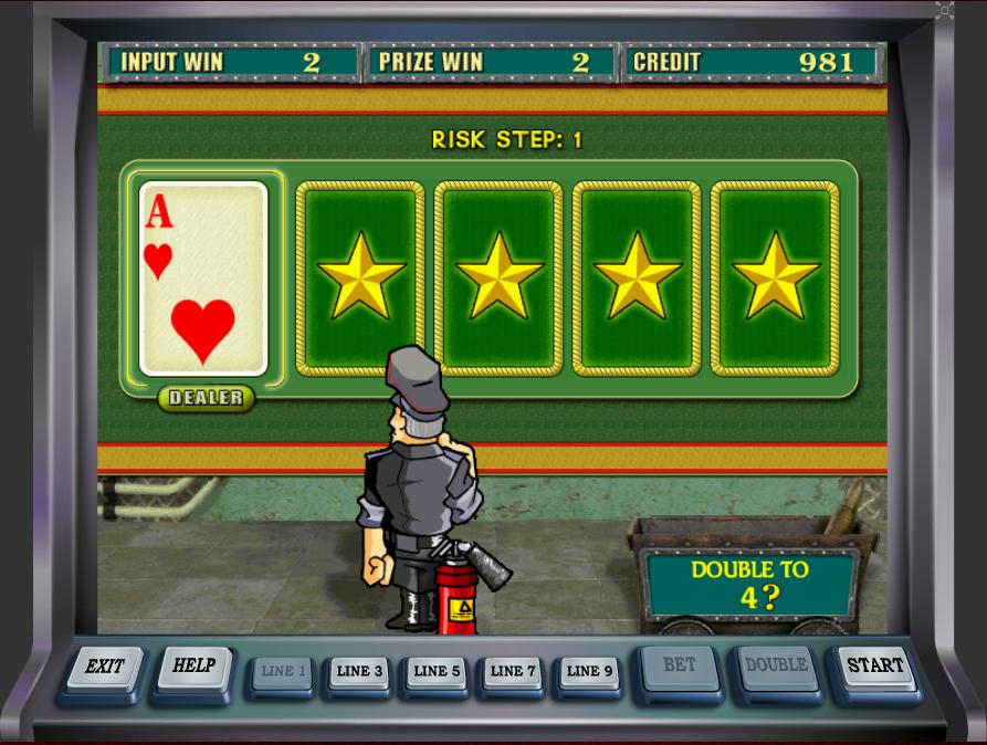 Игровой автомат Резидент игра на удвоение